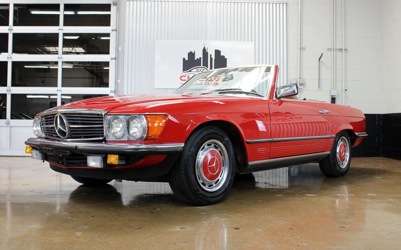 For Sale 1985 Mercedes Benz 280SL Euro