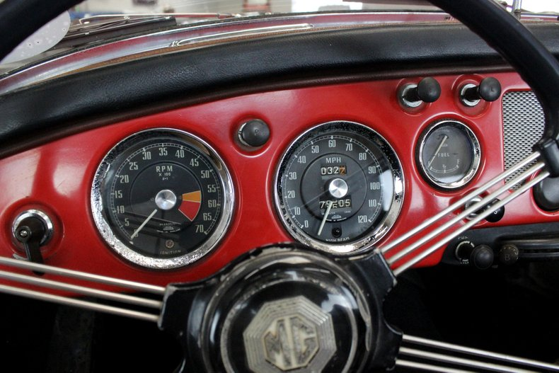 For Sale 1958 MG MGA