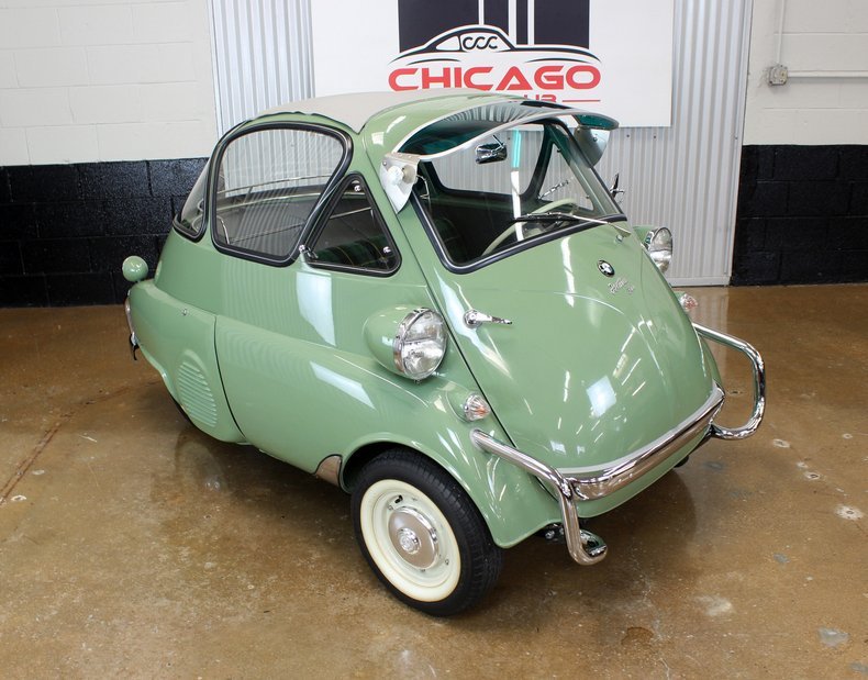 1956 BMW Isetta 300 Bubble Window