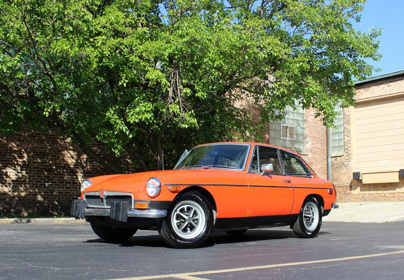For Sale 1974 MG BGT