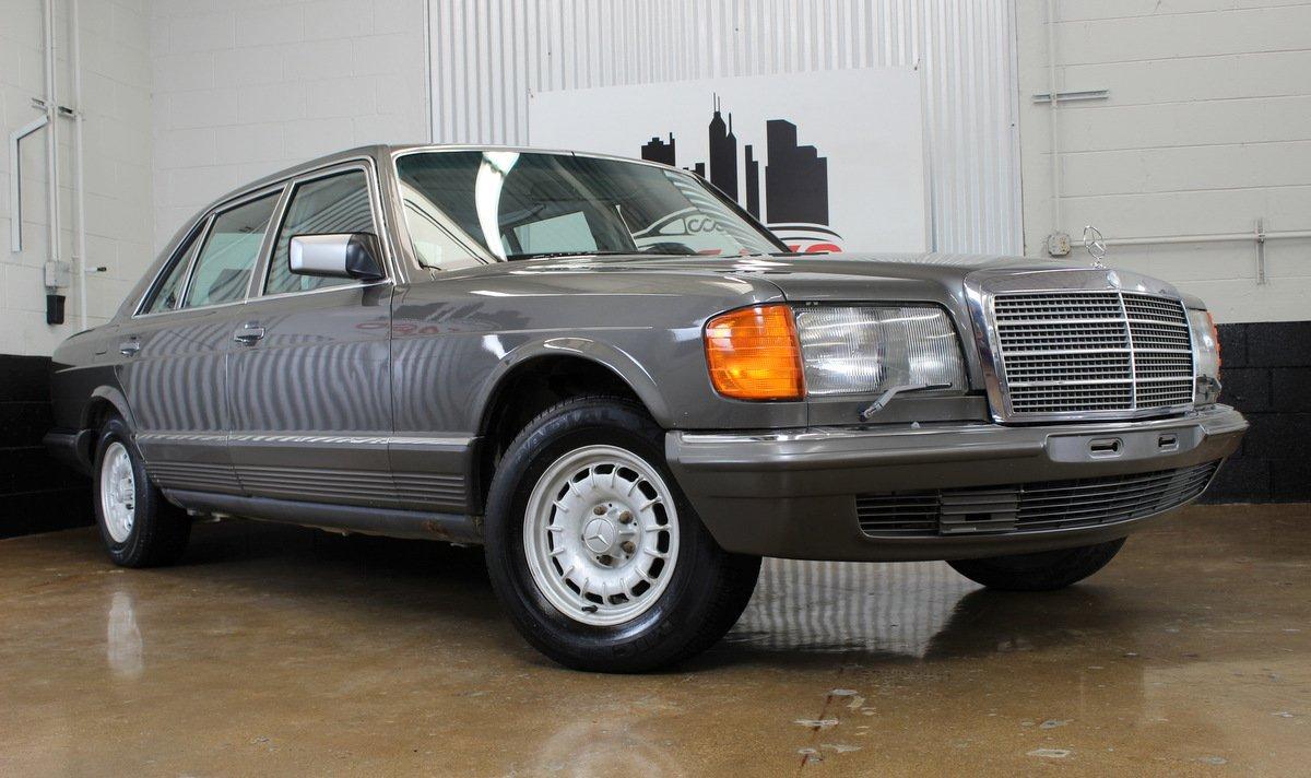 1984 mercedes benz 500sel euro