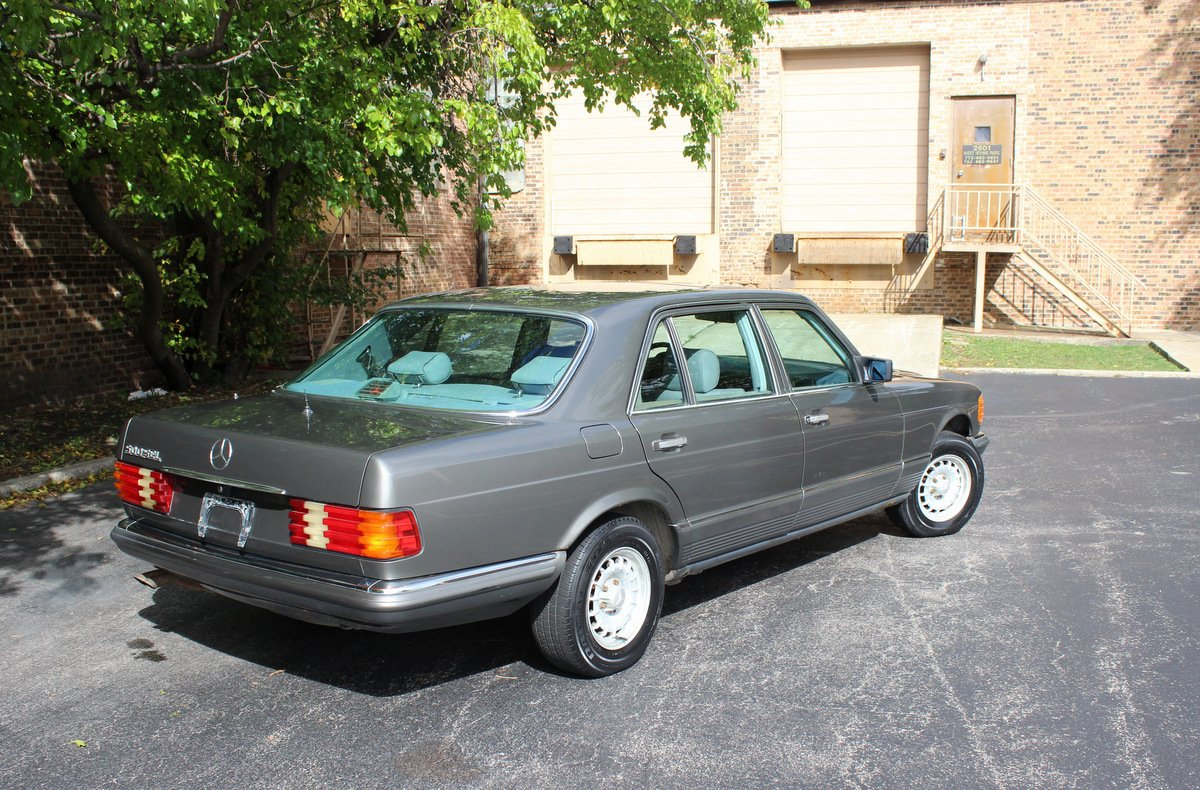 ... For Sale 1984 Mercedes-Benz 500SEL Euro ...