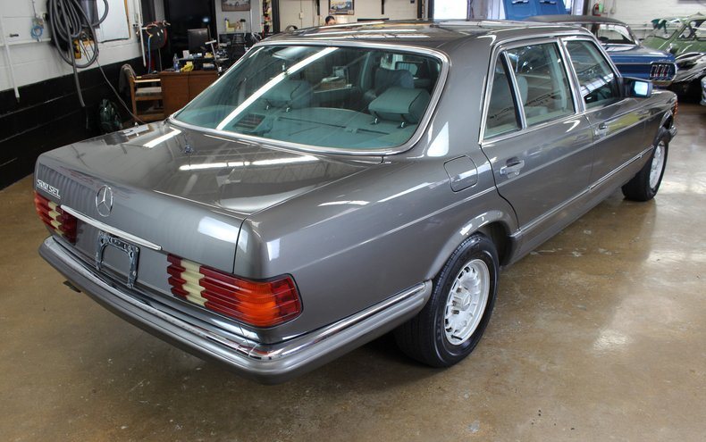 For Sale 1984 Mercedes-Benz 500SEL Euro