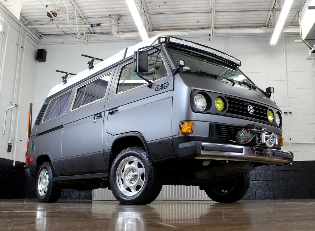 1987 Volkswagen Vanagon Syncro Westfalia Chicago Car Club