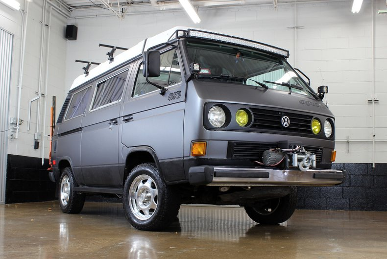 For Sale 1987 Volkswagen Vanagon Syncro Westfalia