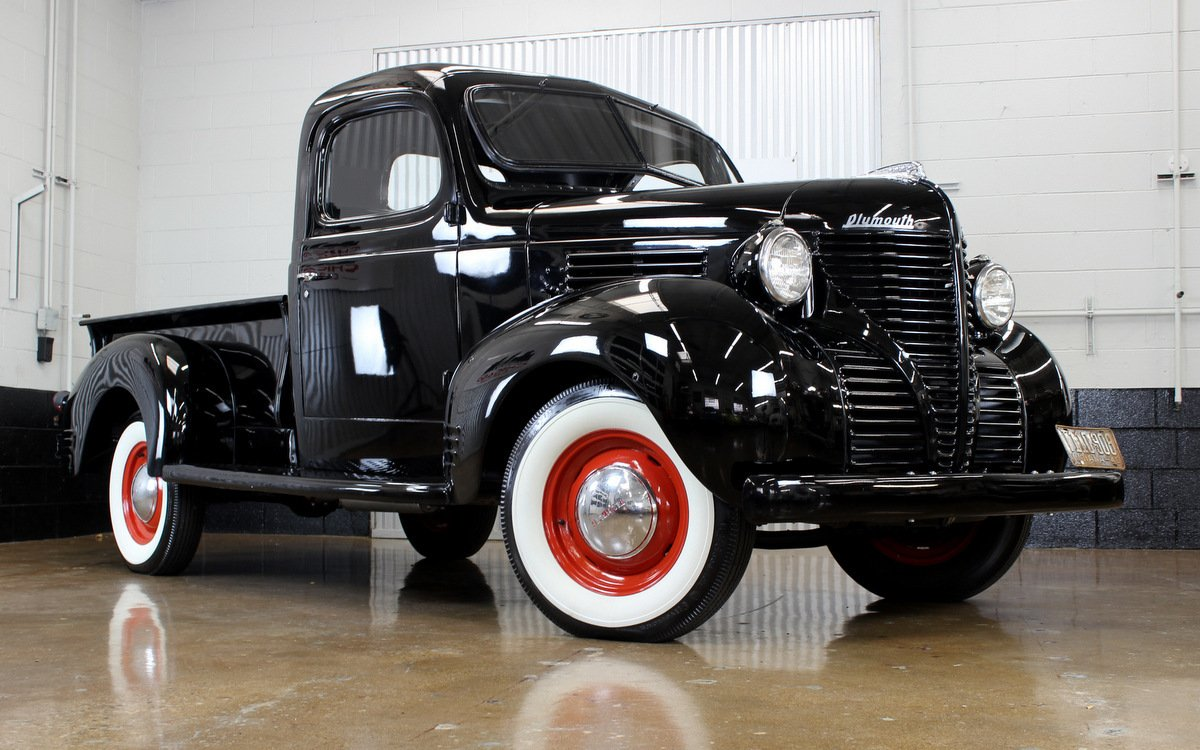 1940 plymouth pt 105 pickup