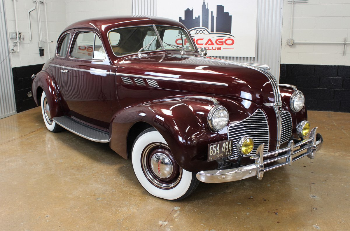 1940 pontiac silverstreak