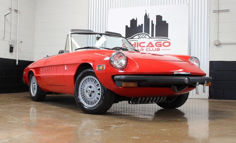 1979 Alfa Romeo Spider 2000