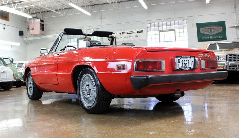 For Sale 1979 Alfa Romeo Spider 2000