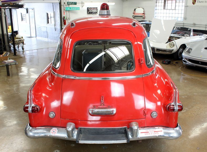 1954 Packard Henney Jr Ambulance   Chicago Car Club