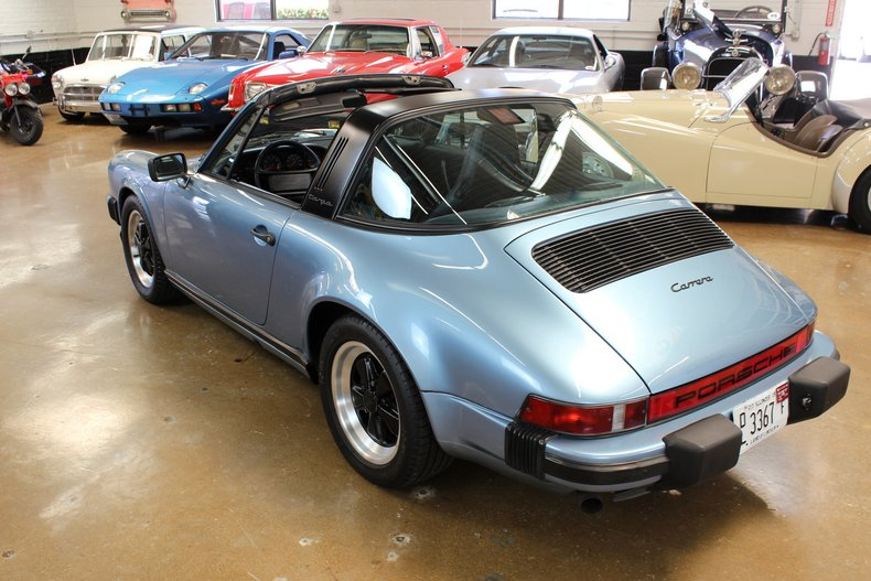 For Sale 1986 Porsche 3.2 Carrera Targa