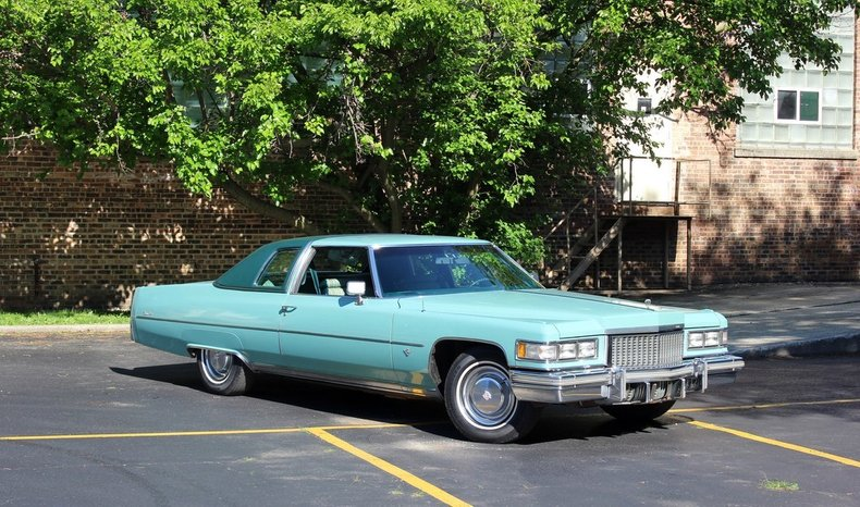 For Sale 1975 Cadillac Coupe DeVille
