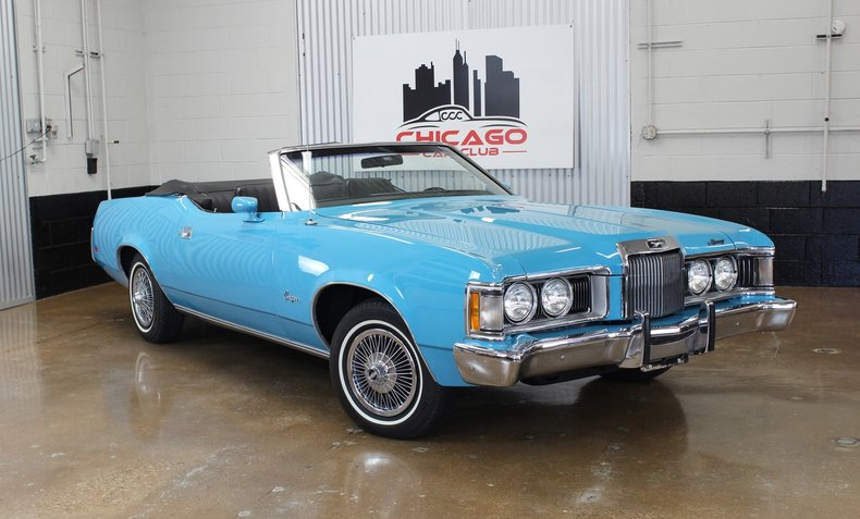 For Sale 1973 Mercury Cougar Convertible