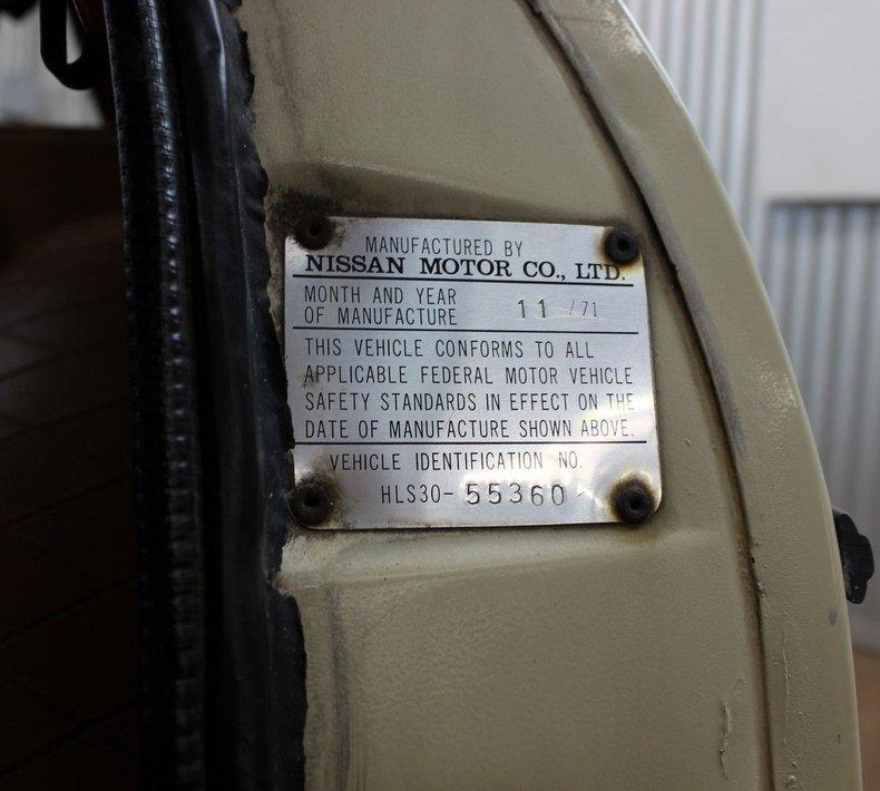 For Sale 1972 Datsun 240Z