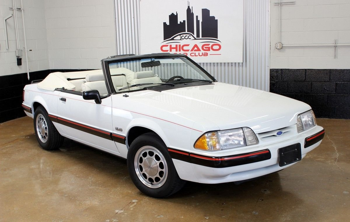1988 ford mustang lx 5 0l convertible