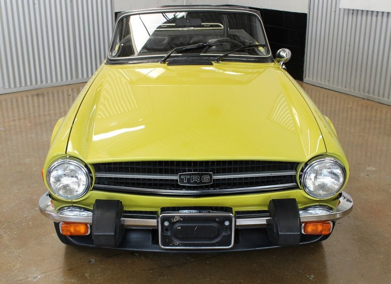 For Sale 1976 Triumph TR6