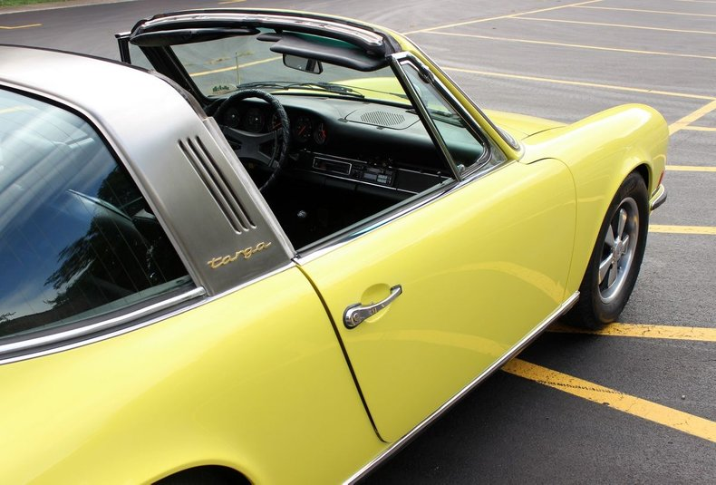 For Sale 1970 Porsche 911E Targa