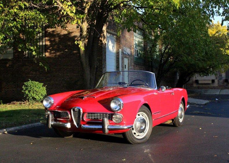 For Sale 1960 Alfa Romeo 2000 Touring Spider