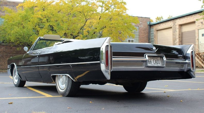 For Sale 1966 Cadillac DeVille Convertible
