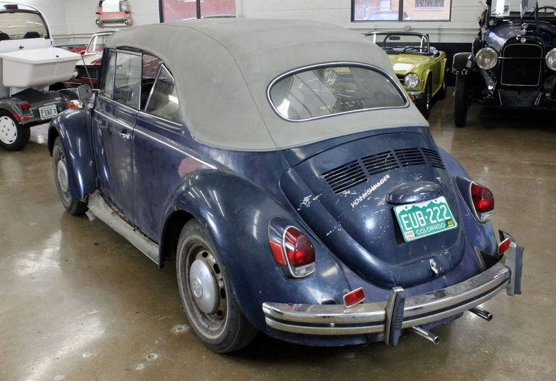For Sale 1970 Volkswagen Beetle Convertible