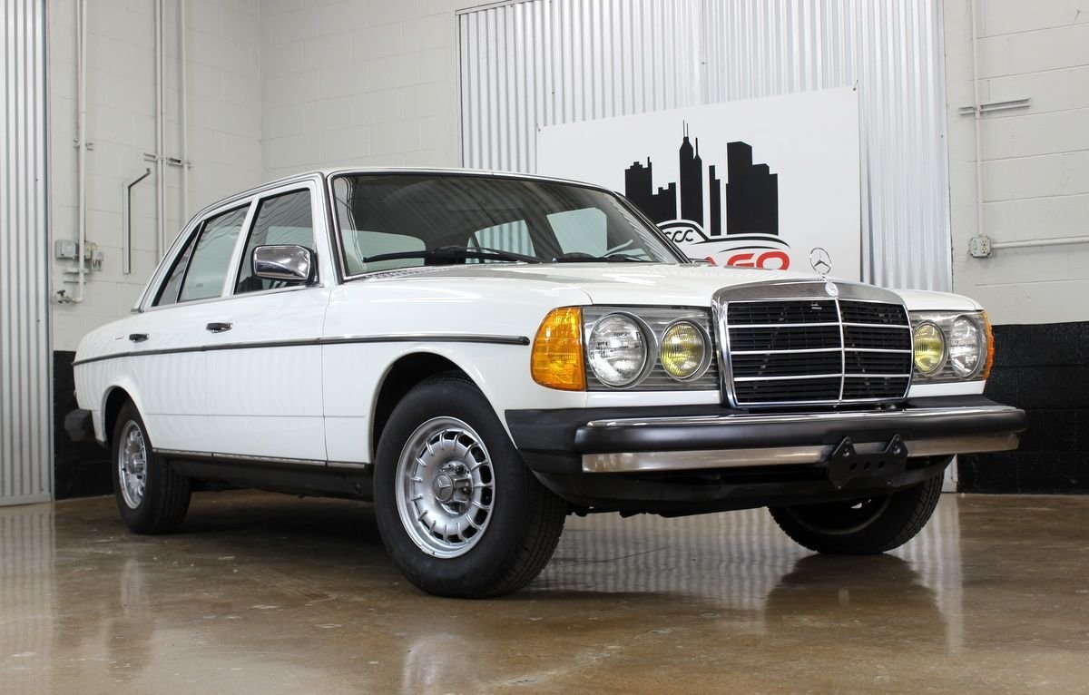1982 mercedes benz 300d turbo
