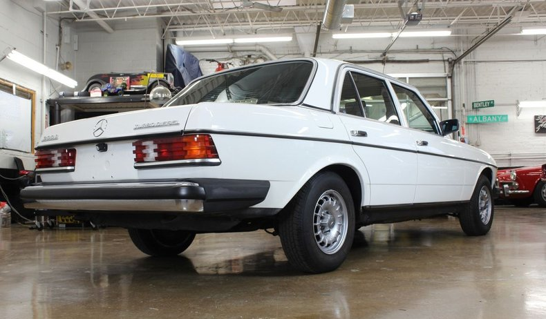 For Sale 1982 Mercedes-Benz 300D Turbo