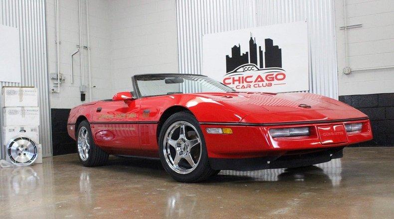 For Sale 1986 Chevrolet Corvette Convertible Pace Car
