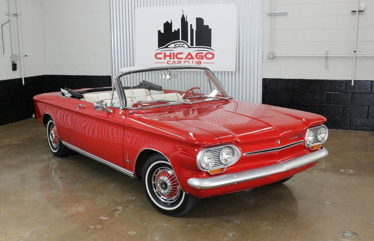 1963 Chevrolet Corvair Monza Convertible Chicago Car Club