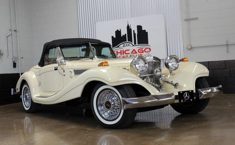 1936 Mercedes Benz 500K Roadster Replica by Heritage