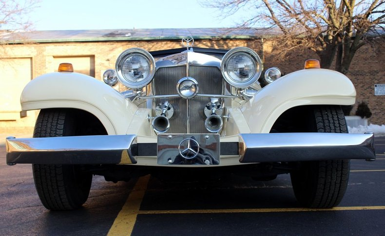 For Sale 1936 Mercedes Benz 500K Roadster Replica by Heritage