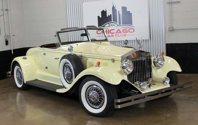 1930 Duesenberg Model J Murphy Roadster Replica