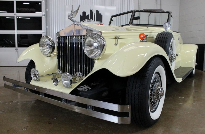 For Sale 1930 Duesenberg Model J Murphy Roadster Replica