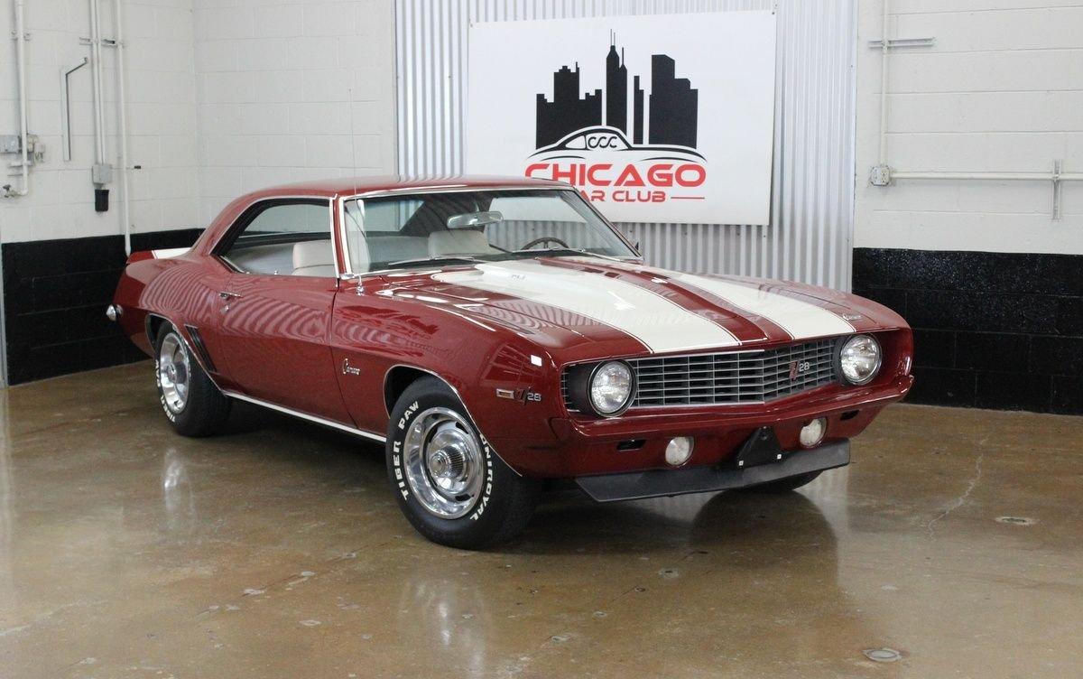1969 chevrolet camaro z28 4spd