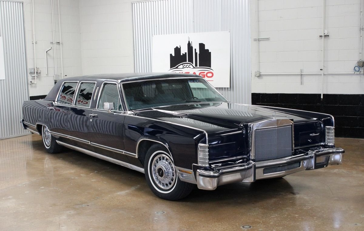 1978 lincoln continental limousine