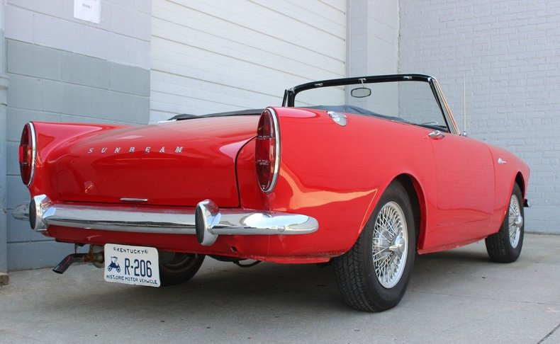 For Sale 1966 Sunbeam Alpine Series V