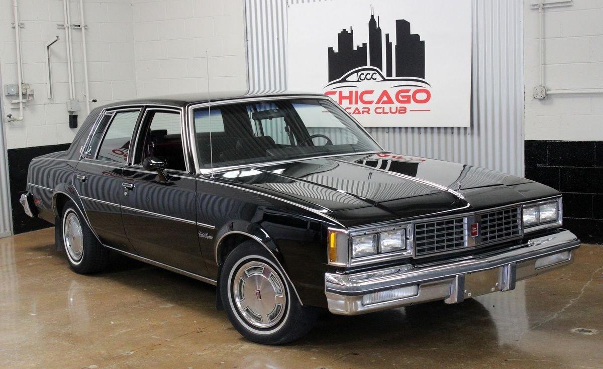1986 oldsmobile cutlass supreme 4dr sedan