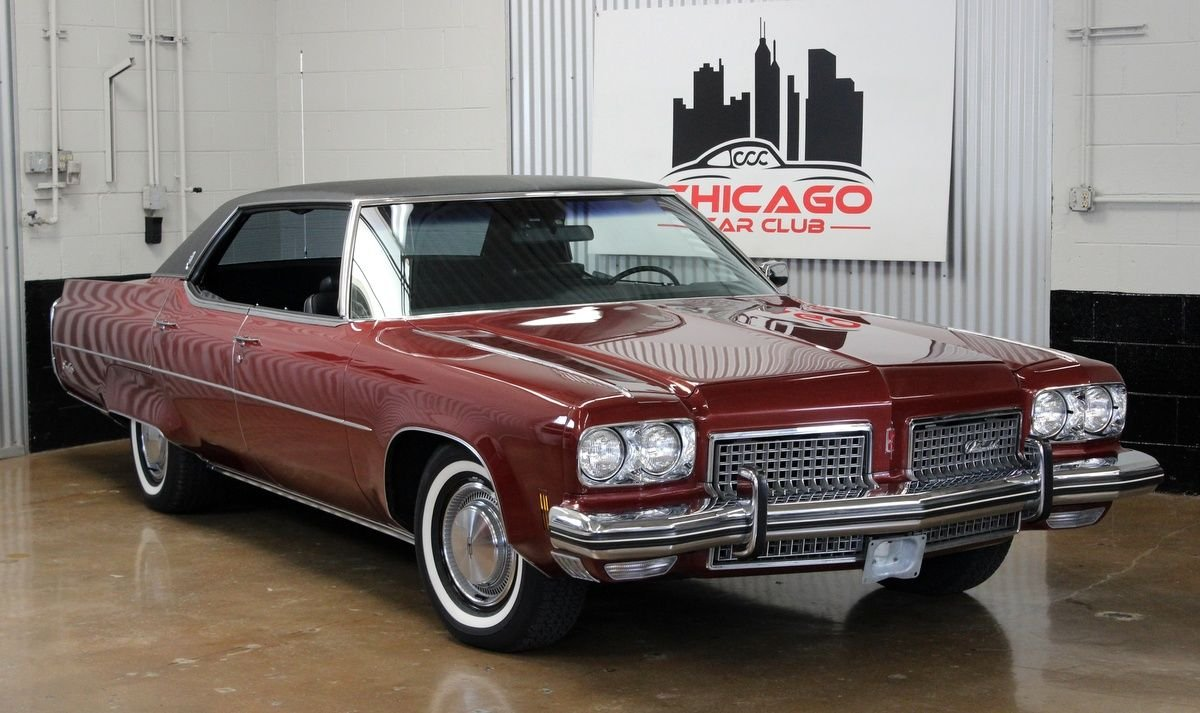 1973 oldsmobile ninety eight luxury sedan