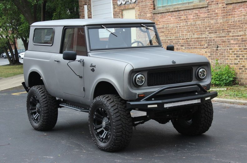 For Sale 1966 International Harvester Scout Turbodiesel