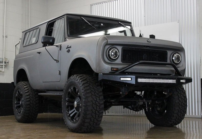 1966 International Harvester Scout Turbodiesel