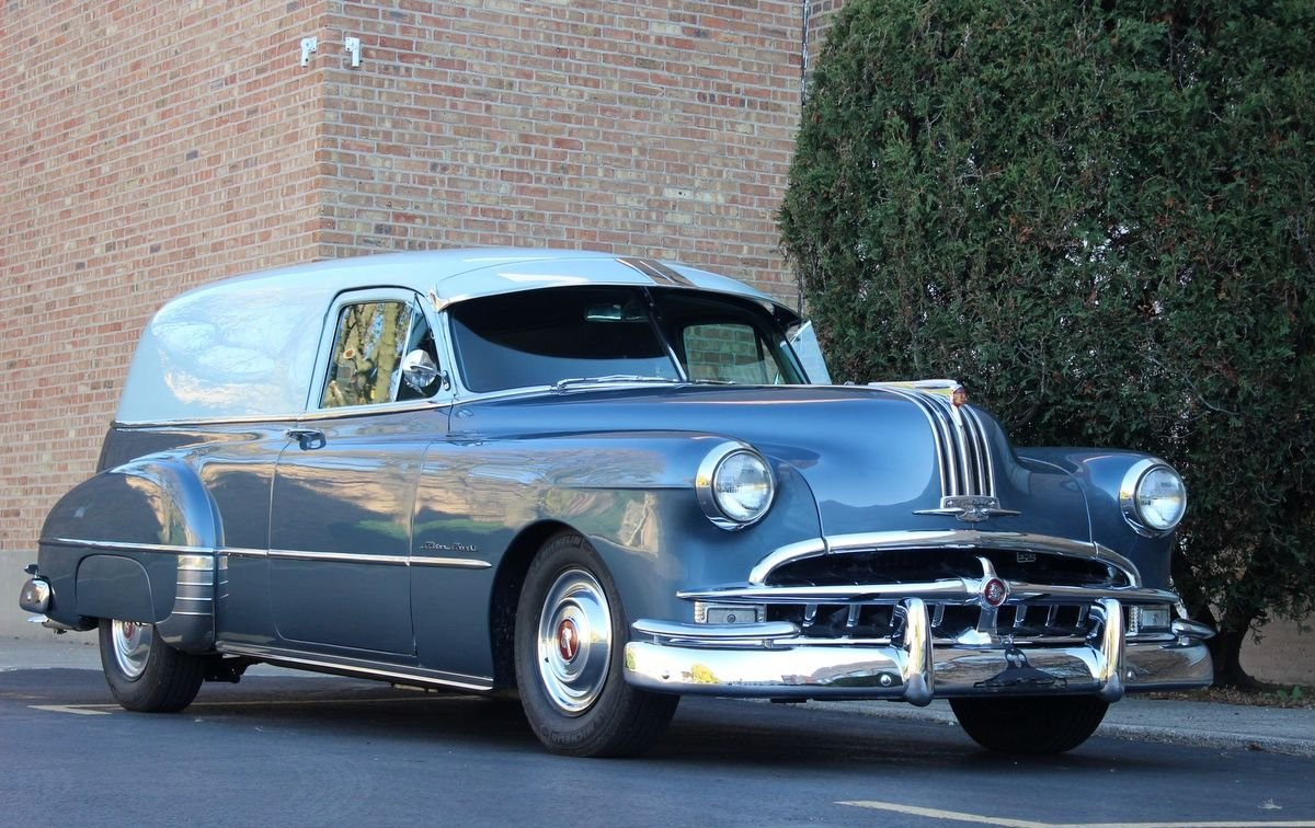 1949 pontiac silver streak delivery