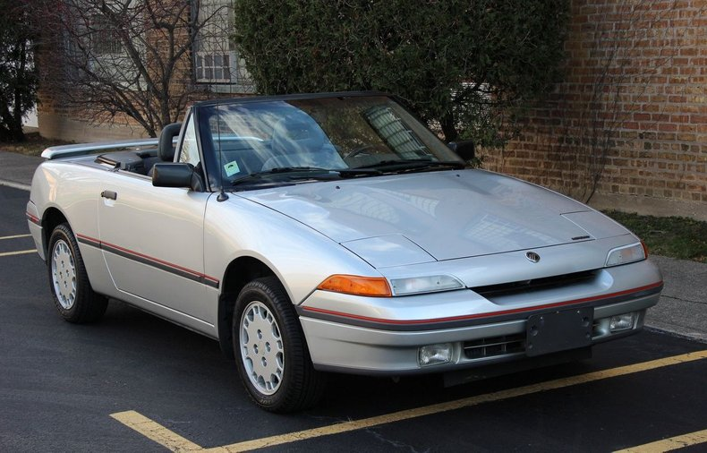 1991 Mercury Capri XR2 Turbo Convertible 5spd