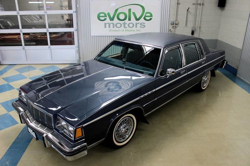 1983 buick electra park avenue 4dr sedan