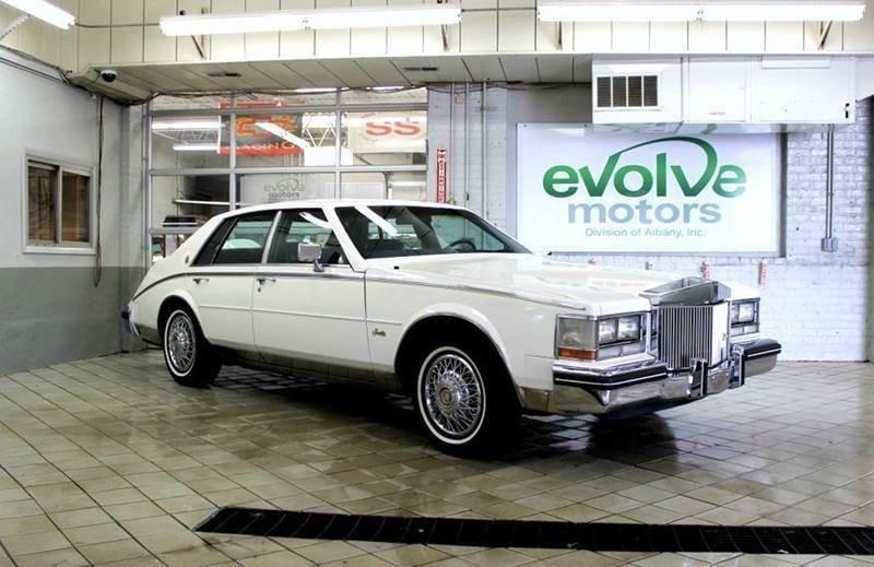1985 cadillac seville 4dr sedan