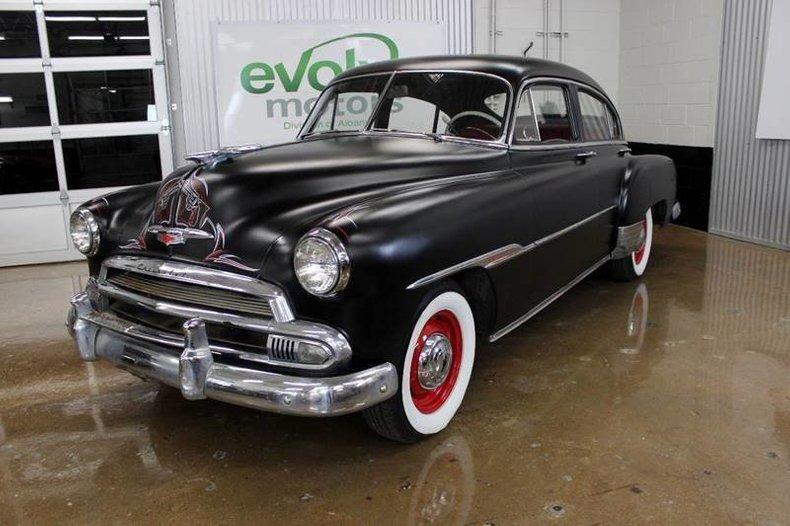1951 Chevrolet Fleetline