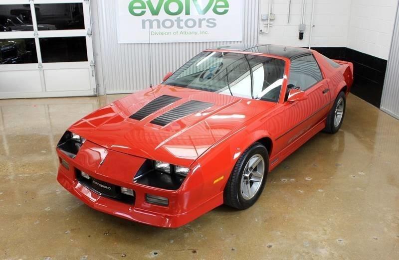 1985 chevrolet camaro z28 2dr hatchback
