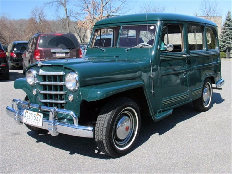1950 Willys Jeep Wagon