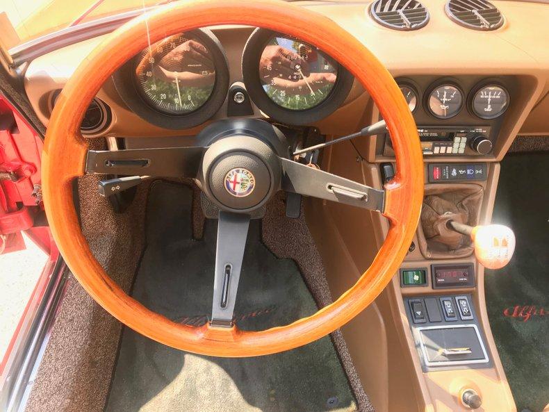 1983 Alfa Romeo Veloce spyder 6