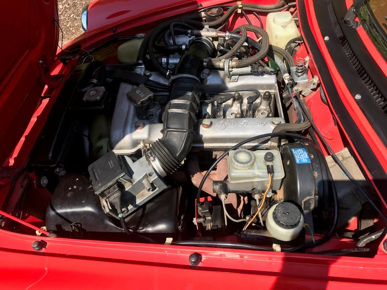 1983 Alfa Romeo Veloce spyder 4