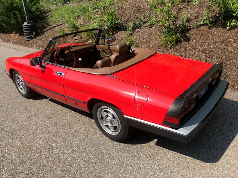 1983 Alfa Romeo Veloce spyder 8