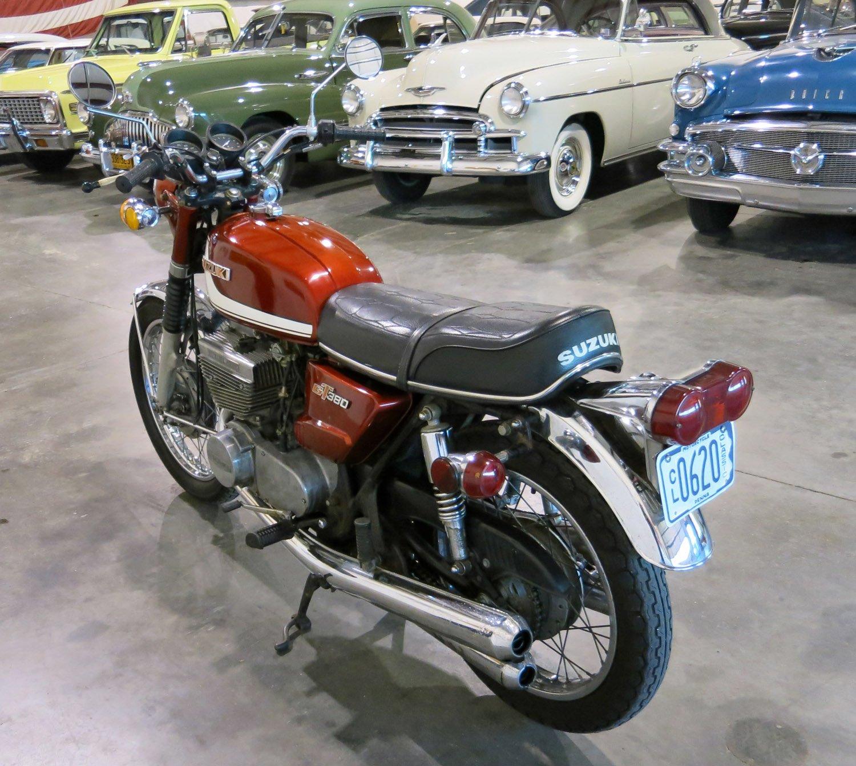 1972 Suzuki GT380